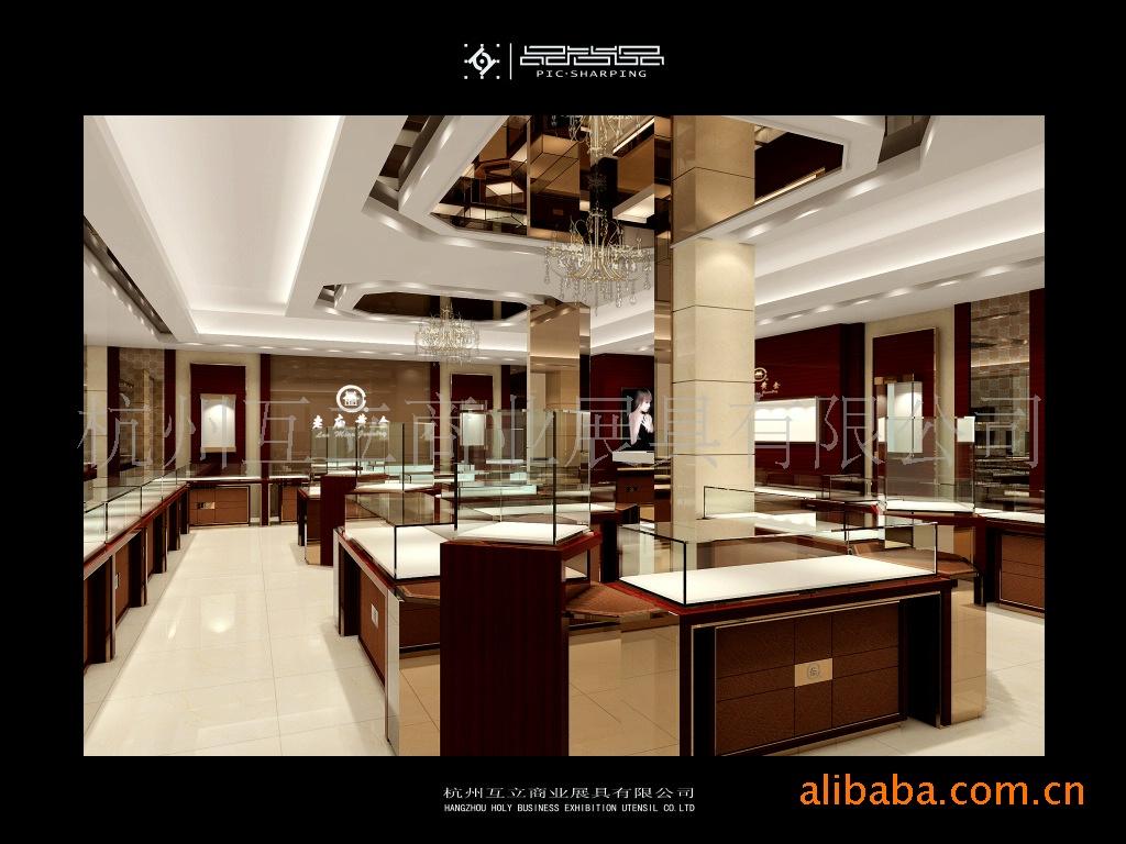 设计制作展览搭建,道具,珠宝展柜,展示柜(图)